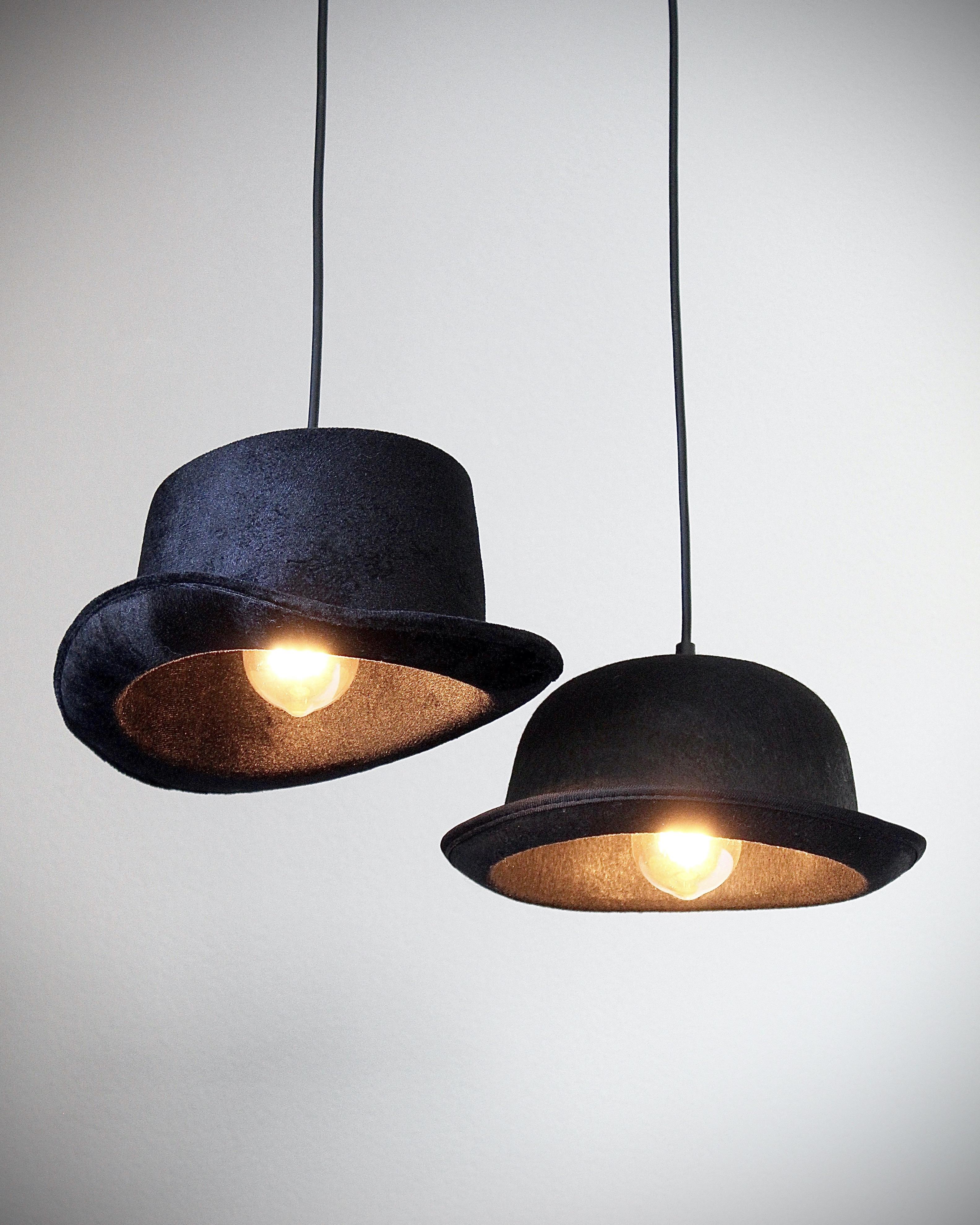 Hoge Hoed En Bolhoed Lamp